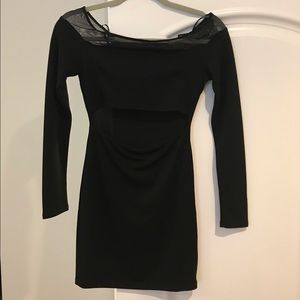 Cute fitted black dress from Forever 21